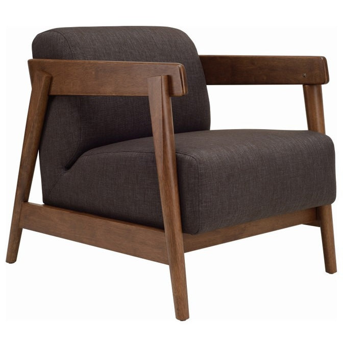Daewood Lounge Chair In Dark Grey
