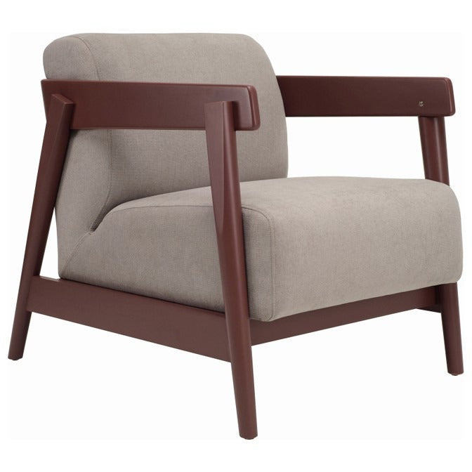 Daewood Lounge Chair In Light Grey