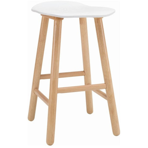 Hetty Counter Stool - Oak + White