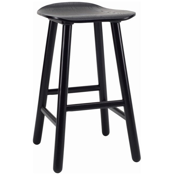 Hetty Counter Stool - Black Ash Veneer