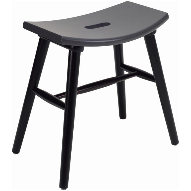 Hollis Stool In Graphite Grey Modern Furniture Melbourne