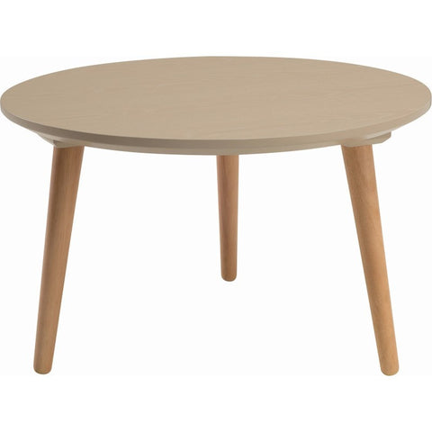 CARSYN Round Coffee Table - Taupe