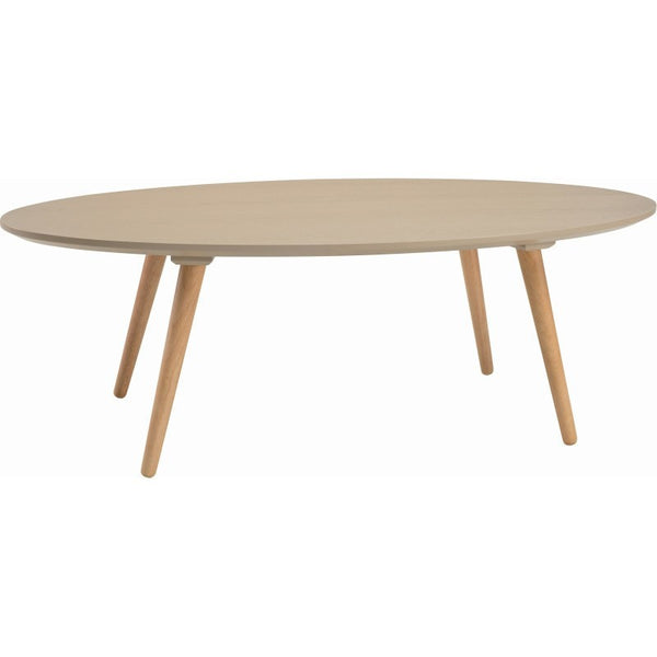 Carsyn Oval Coffee Table - Taupe