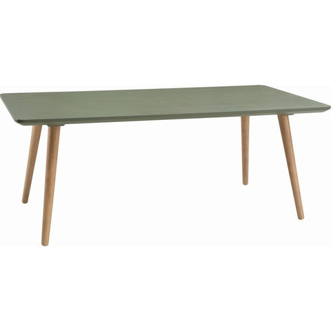 Carsyn Rectangular Coffee Table In Pickle Green