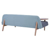 LUSSO Daybed - Sea Green & Grey