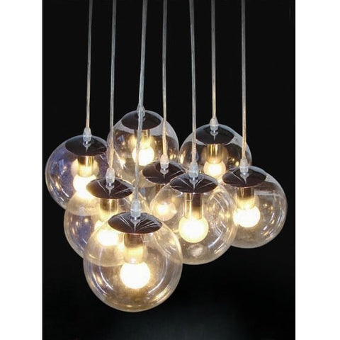 Madison Glass Cluster Pendant Lights