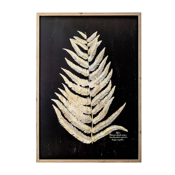Fern Leaf in Nature Frame - B