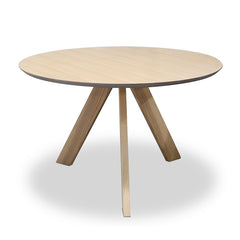 ACE Round Dining Table 1.2M - Natural