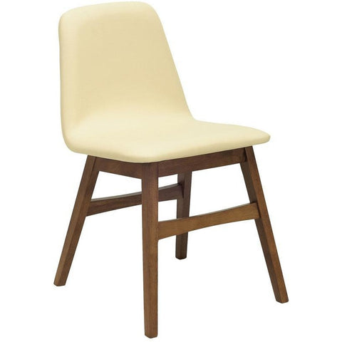 Avice Dining Chair - Cocoa + Cream