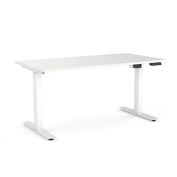 AGILE PRO Electric 2 Column Sit Standing Desk - 1200mm to 1800mm
