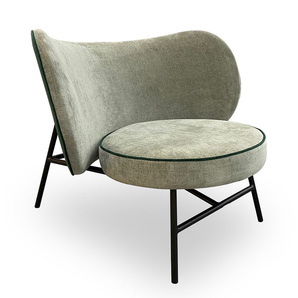 AVENIR Lounge Chair - Dark Green
