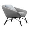 Soren Lounge Chair - Grey
