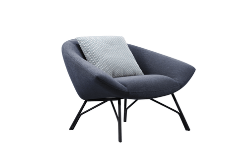 Soren Lounge Chair - Blue