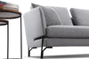 DAKOTA 3 Seater with Right Chaise - Light Grey