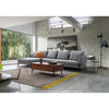 DAKOTA 3 Seater With Left Chaise - Light Grey
