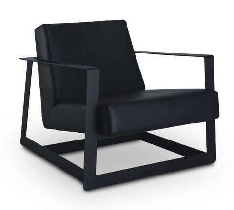 BRUNO Lounge Chair - Black