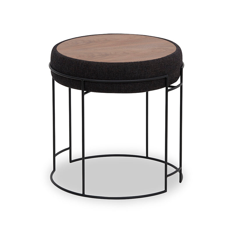 CODY Side Table + Stool - Black