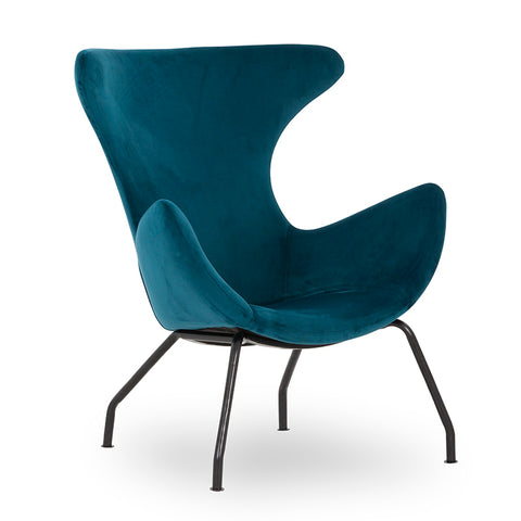 CROMBIE Lounge Chair - Blue