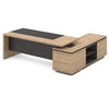 Dante Executive Office Desk with Left Return 2.2M - Kadi & Grey