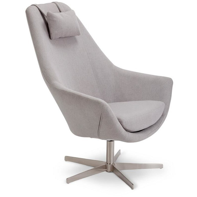 Nessa Leisure Chair - Grey