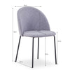 ARINA Dining Chair - Mint Green