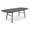 GOSTA 1.8-2.7m Extendable Dining Table - Black Ash