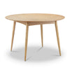 ATARA Dining Table Round 1.2M - Natural Ash Veneer