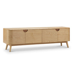 AKINO TV Entertainment Unit 1.6M - Natural Ash Veneer