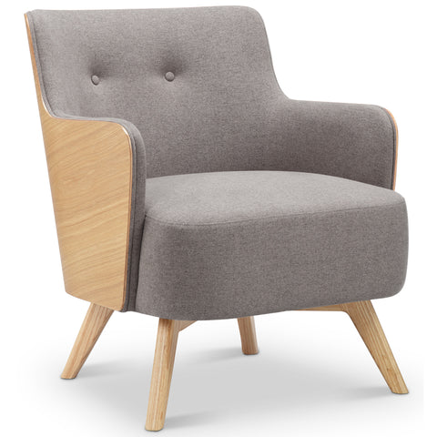 Suvi Lounge Chair - Ash + Grey