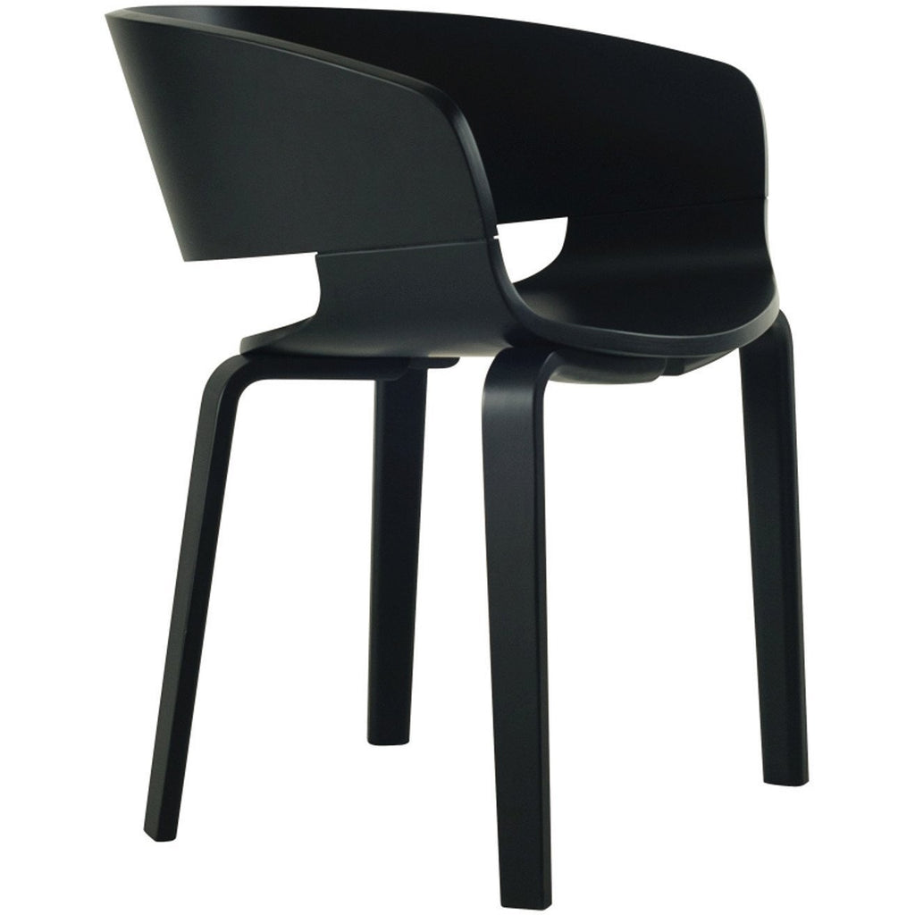 Huela dining chair black modern furniture melbourne sydney brisbane adelaide perth