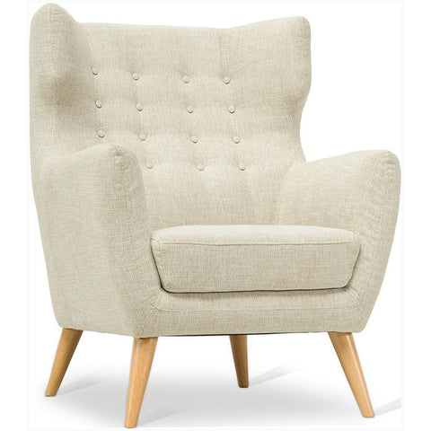 KANION 1 Seater Sofa - Almond