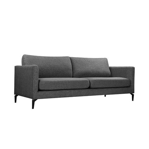 GIZI 3 Seater Sofa - Dark Grey