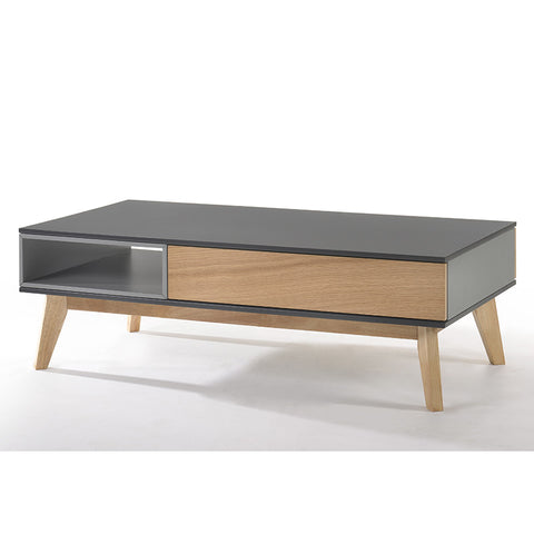 RUMI Coffee Table 1.2M - White Oak