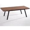 Anker Coffee Table - 120cm - Walnut + Espresso