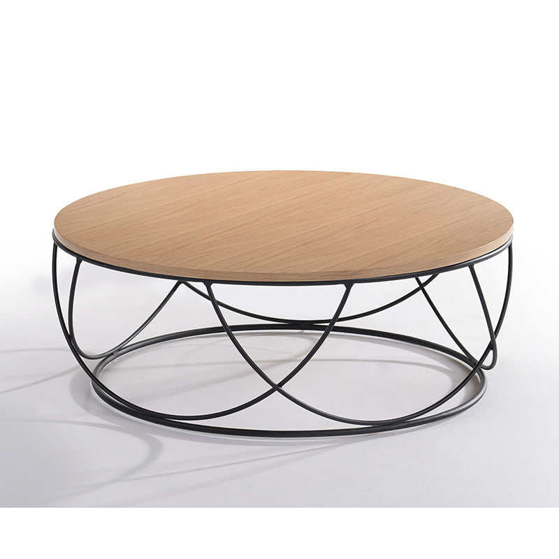 ANYA Round Coffee Table 80cm - Natural