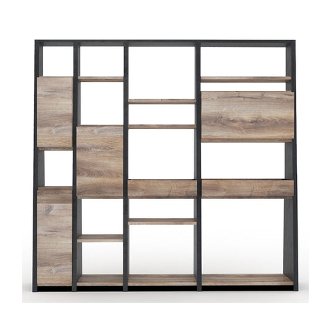 BARON Display Unit 2.3M - Mahogany Black