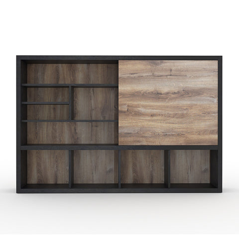 DAXTON Display Unit 2.4M - Mahogany Black