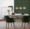 NAYELI Dining Chair - Dark Green