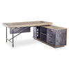 PARKER Executive Office Desk with Right Return 1.8M - Tobacco