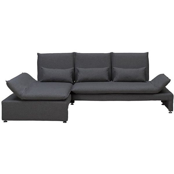 BALTO 3 Seater Sofa  with Left Chaise - Dark Grey
