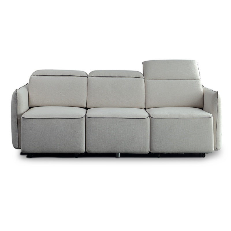 Emory 3 seater sofa with retractable chaise modern for 3 seater sofa with chaise