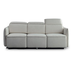 EMORY 3 Seater Sofa with Retractable Chaises - Ivory