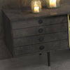 BLAISE Entertainmet TV Unit - 2.03M Black/Yellow/White