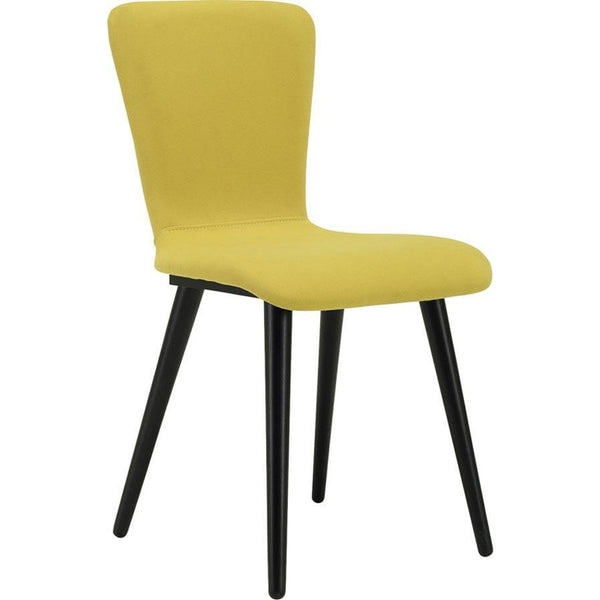 Valley Dining Chair - Black + Pistachio