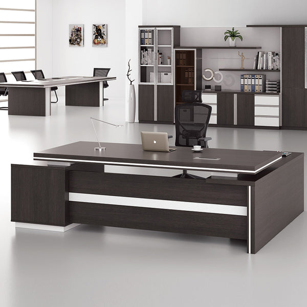 Xander Executive Office Desk Right Return 249cm