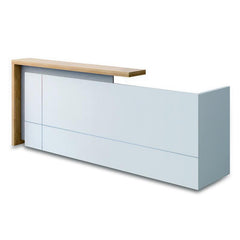 ZIVA Reception Desk 180cm Right Panel - White