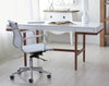Nelo Computer Desk/Console  - 166cm - White High Gloss