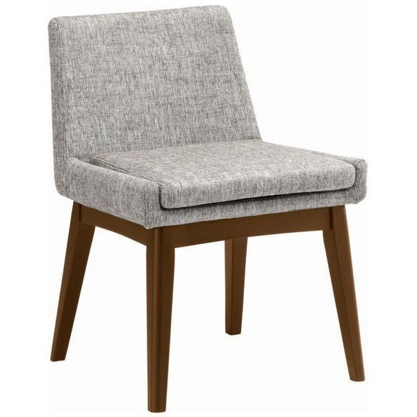 Maya dining chair cocoa pebble grey modern furniture for Modern dining chairs adelaide