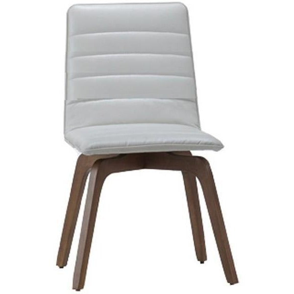 Volente Dining Chair - Walnut + Cream