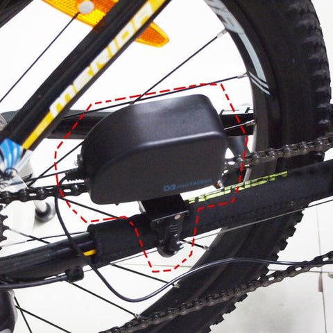 Chain Bicycle USB Power Generator